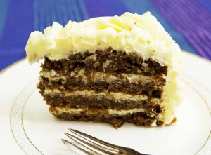 Slik ser kaken ut inni